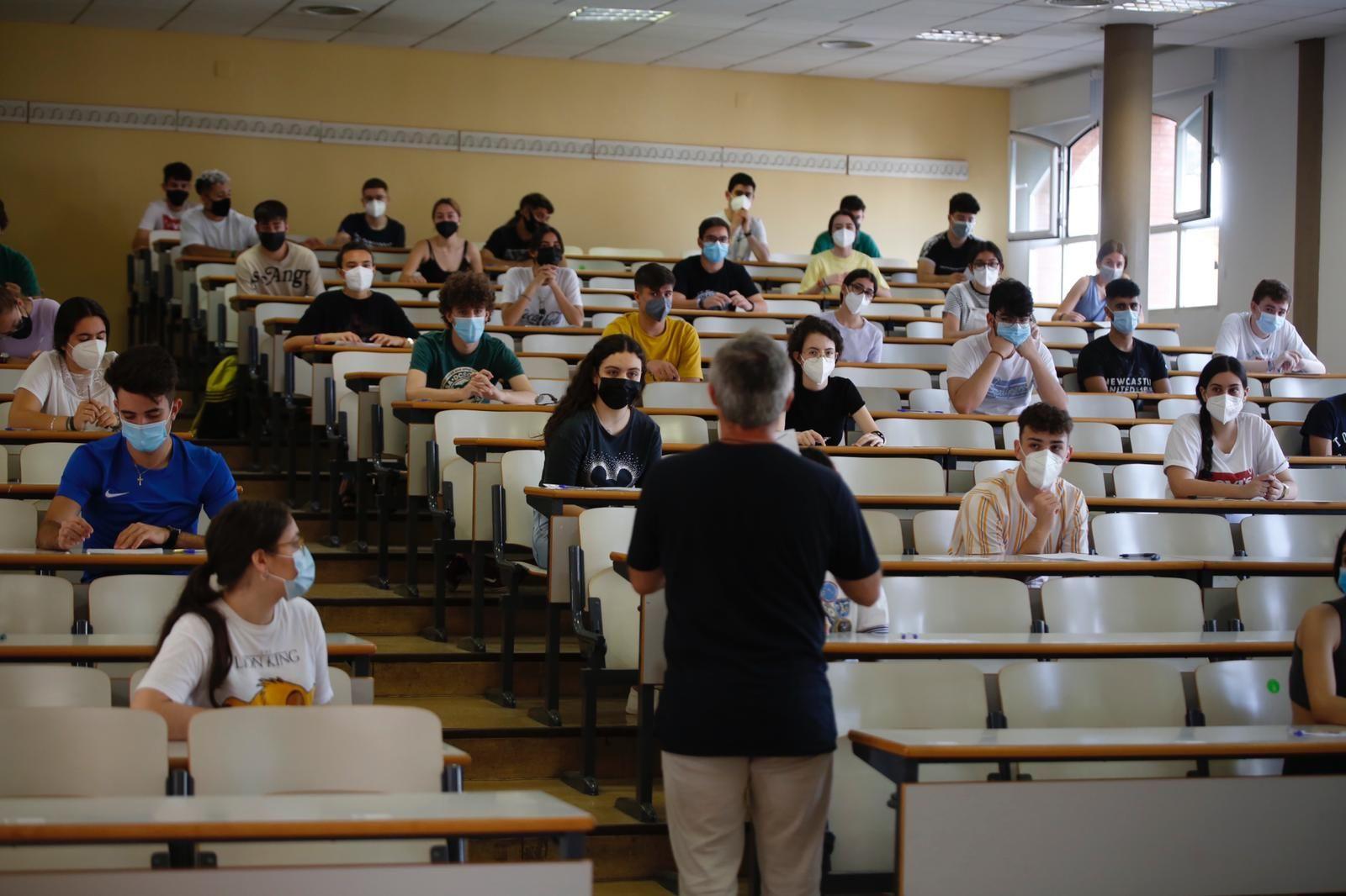 Comienzan los exámenes de la PEvAU en Córdoba