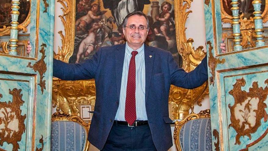 """Alfredo Llopis Verdú: """"Fugas de socios hay, pero cuando más hacen falta las cuotas de los cofrades es en momentos difíciles"""""""