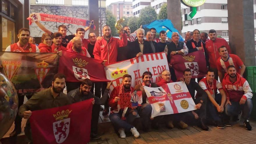 El sportinguismo con base en León ya ruge