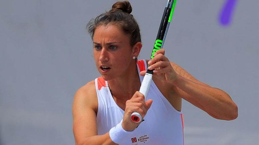 Sara Sorribes, a semifinales sin jugar