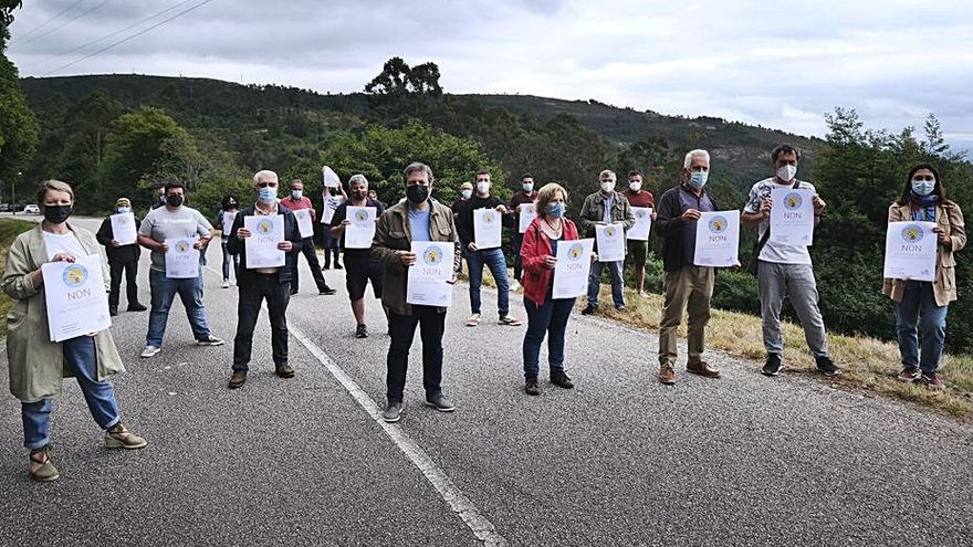 El BNG teme graves daños ambientales en el Castrove por el parque eólico