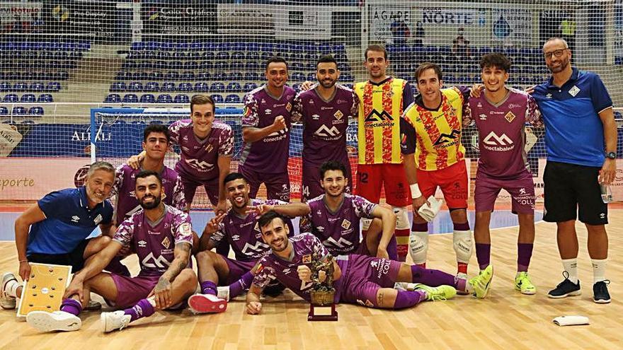 El Palma Futsal se reinventa sin Miquel Jaume