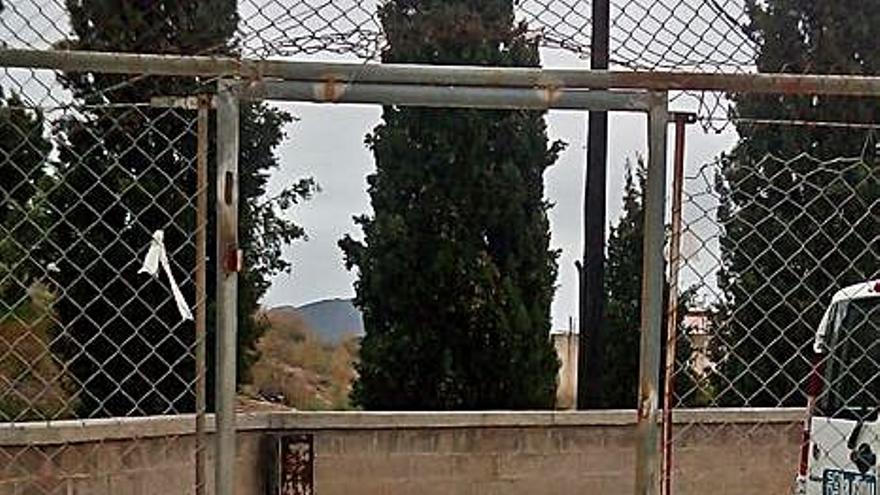 Tercer acto vandálico en Alfara en menos de un mes