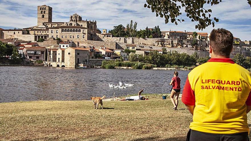 Varias cámaras buscarán el origen de los vertidos residuales al Duero en Zamora