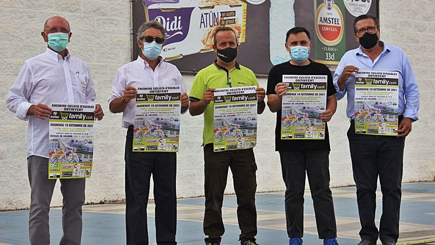 Doscientos ciclistas se darán cita en el Trofeu de Ontinyent