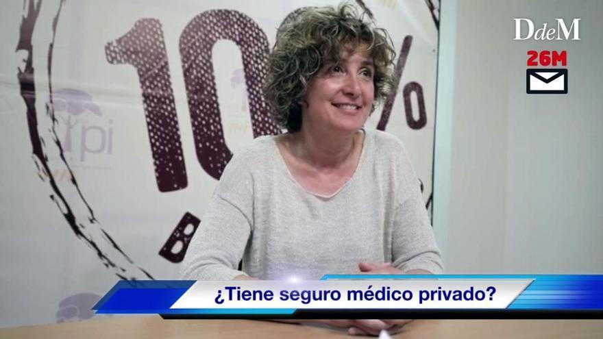"""Xisca Mora: """"El Pi no quiere más autopistas, pero sí debemos mejorar las carreteras existentes"""""""