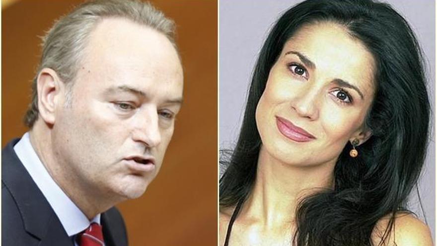 Alberto Fabra y Silvia Jato ya no esconden su amor