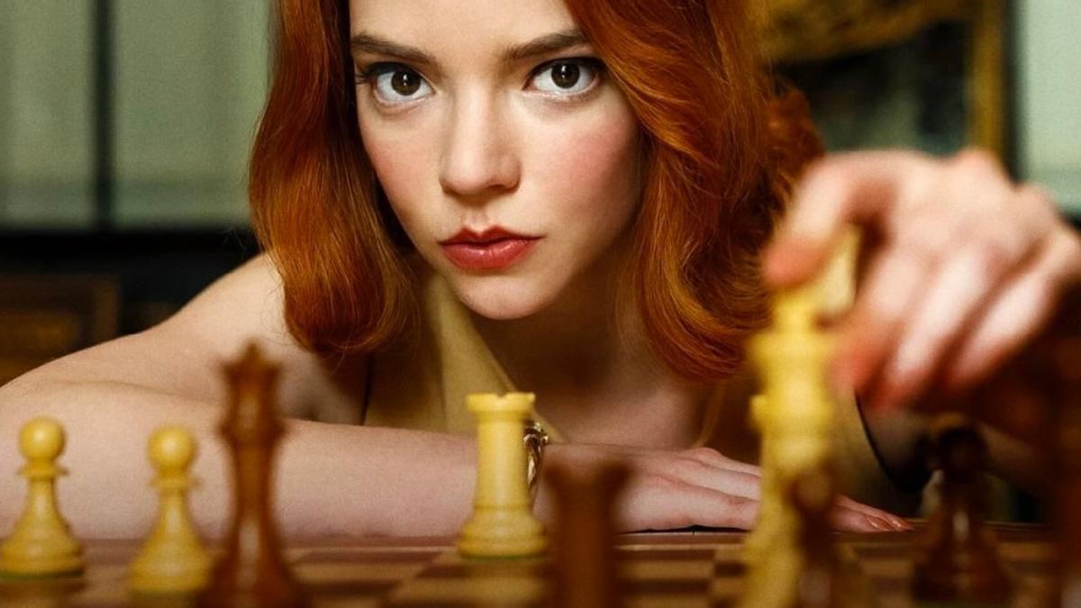 'Gambito de dama', la miniserie más vista de la historia de Netflix.