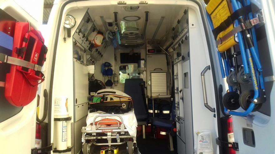 Herido un motorista de 53 años tras colisionar con un coche en Altea