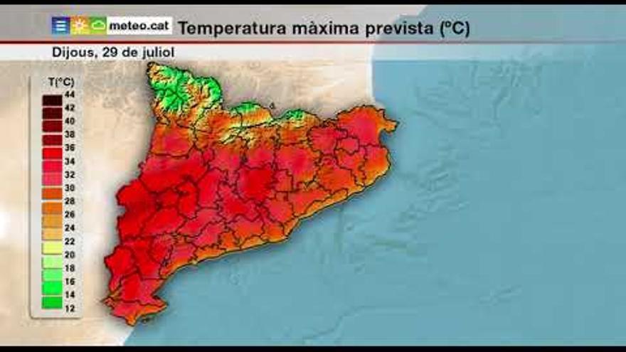 Les temperatures tornen a anar amunt aquest dijous