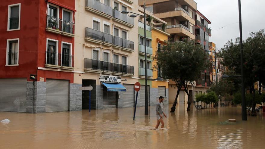 La gota fría se cobra la primera víctima mortal en la Comunitat Valenciana