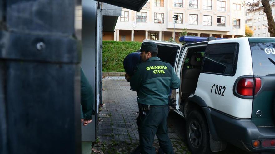 Prisión sin fianza para el detenido en Valencia por el 'narcosubmarino' de Aldán
