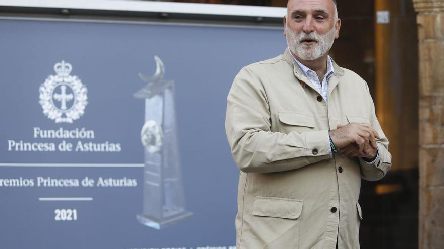 José Andrés donará el dinero del premio Princesa de Asturias de la Concordia a los afectados por el volcán de La Palma