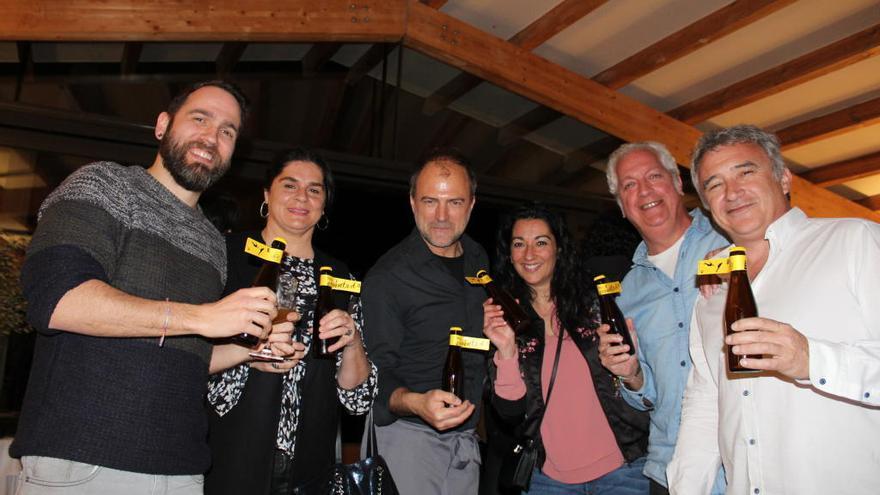 Splash celebra el premi Anuaria a l'Hotel Rural Mas Vivent de Vilamaniscle
