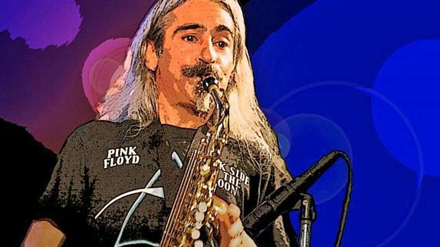 El saxofonista de Maita Vende Ca