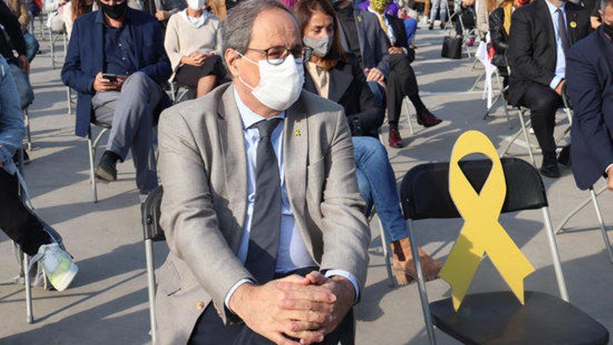 Puigdemont i Torra volen reivindicar a les urnes el mandat de l'1-O
