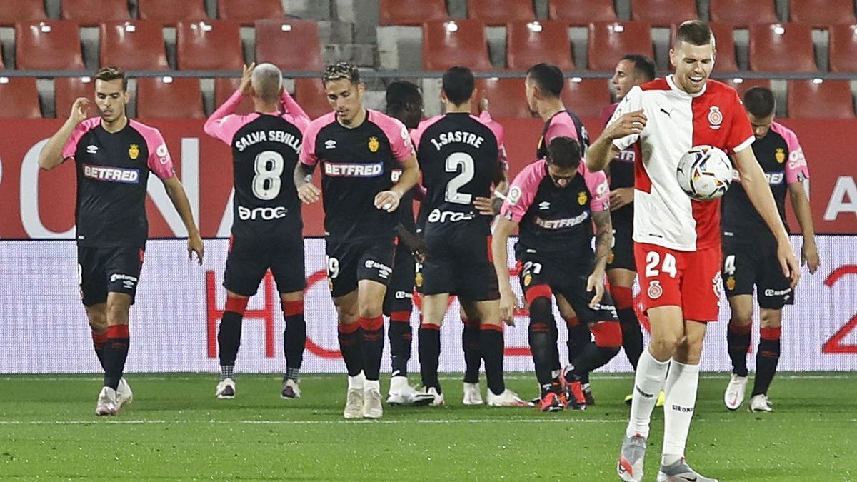 El Mallorca és un dels equips de la part alta que li té guanyat l'«average» al Girona.  | ANIOL RESCLOSA