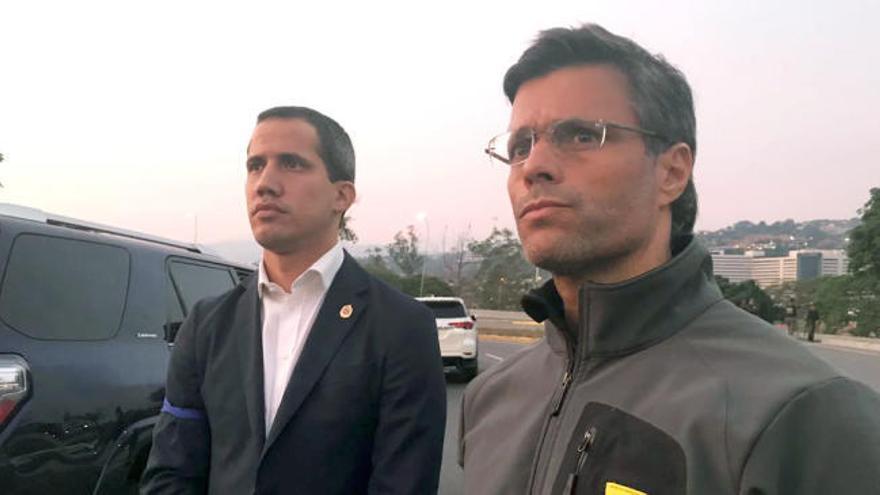 Llega a Madrid el opositor venezolano Leopoldo López