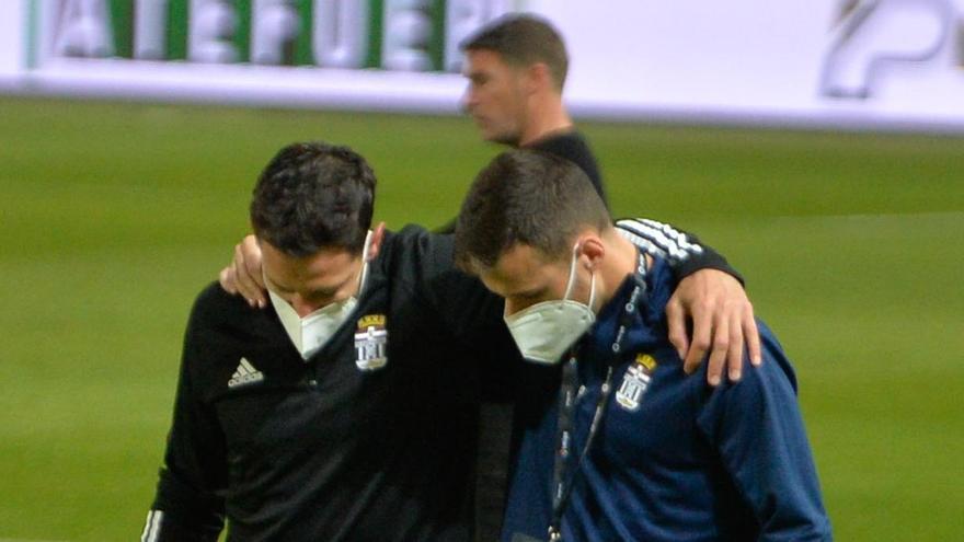 El FC Cartagena pierde a De la Bella por lesión