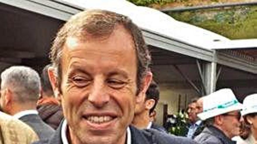 """Sandro Rosell: """"Llevo dos años esperando, pero estoy muy feliz"""""""