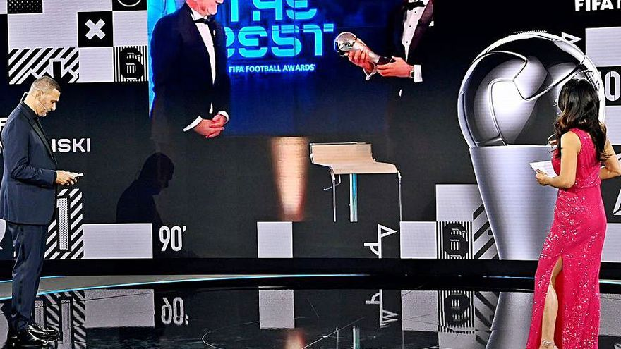 Lewandowski, el mejor jugador del año para la FIFA