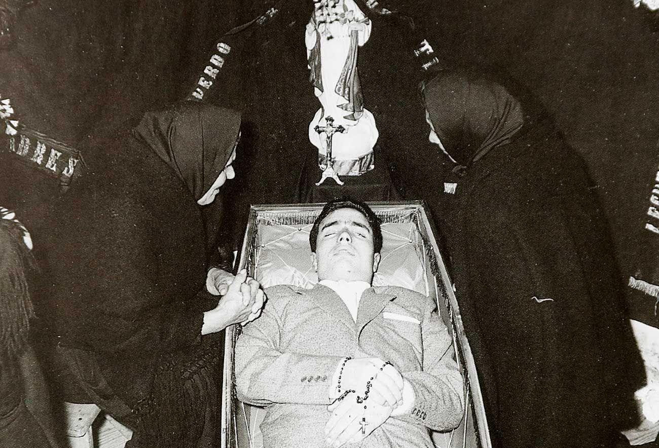 La muerte retratada