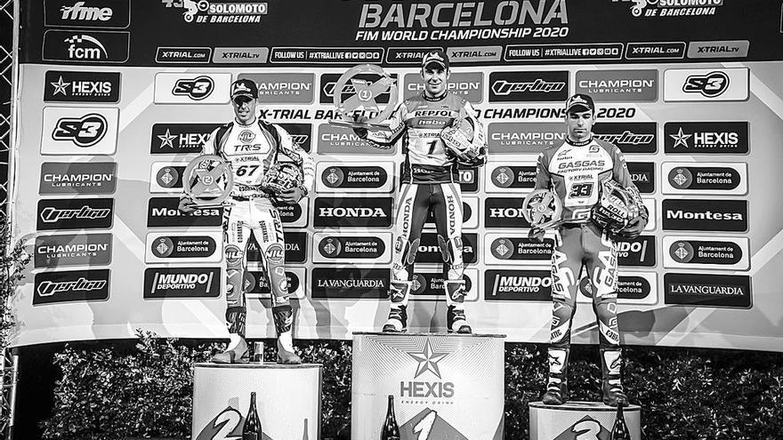 Jorge Casales se sube al podio en el Palau Sant Jordi