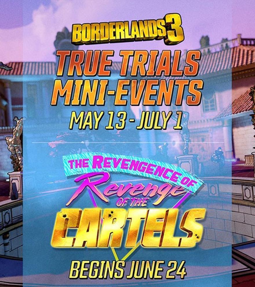 'Borderlands 3': llegan los eventos Verdaderas Pruebas y el regreso Venganza de las Mafias