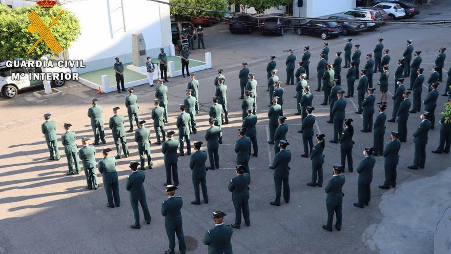 La Guardia Civil incorpora a 112 nuevos agentes a su comandancia en Córdoba