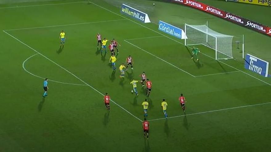Vídeos de los goles y resumen del partido UD Las Palmas 2 - 1 UD Logroñés