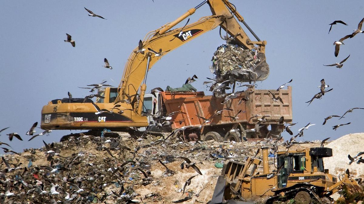 El 56,3% del total de residuos de España va al vertedero.