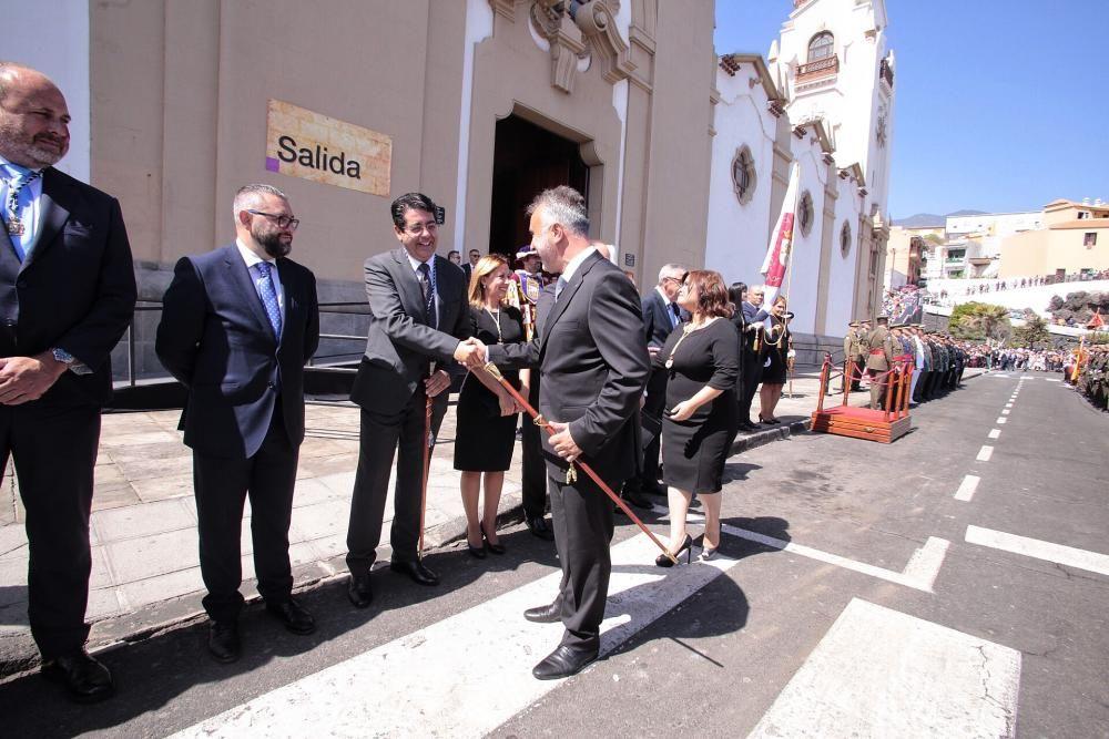 Ángel Víctor Torres, en Candelaria