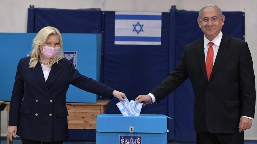 Netanyahu sigue sin tener Gobierno con el 94,4 % de los votos escrutados