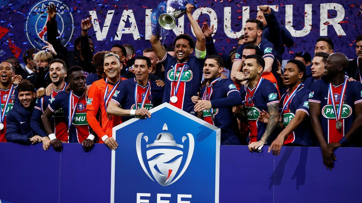 El PSG se proclama campeón de la Copa de Francia por decimocuarta vez en su historia.