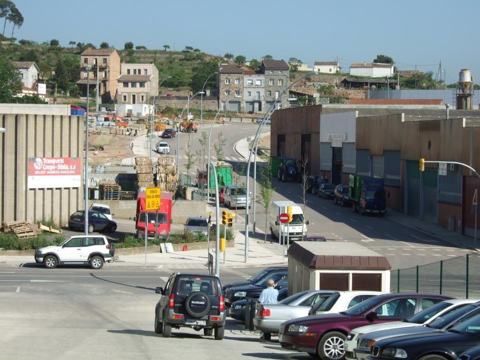 Imatge del 2007, any d'inauguració de la urbanització