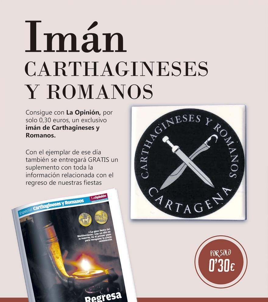 Imán de Carthagineses y Romanos