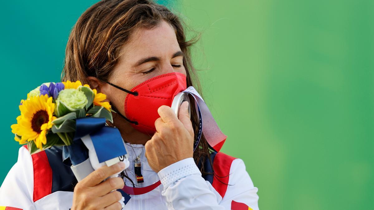 Chourraut se instala en el podio: plata y tercera medalla olímpica.