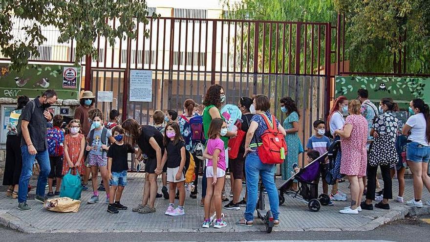 Mallorcas Schulen wissen nicht, welche Kinder oder Lehrer geimpft sind