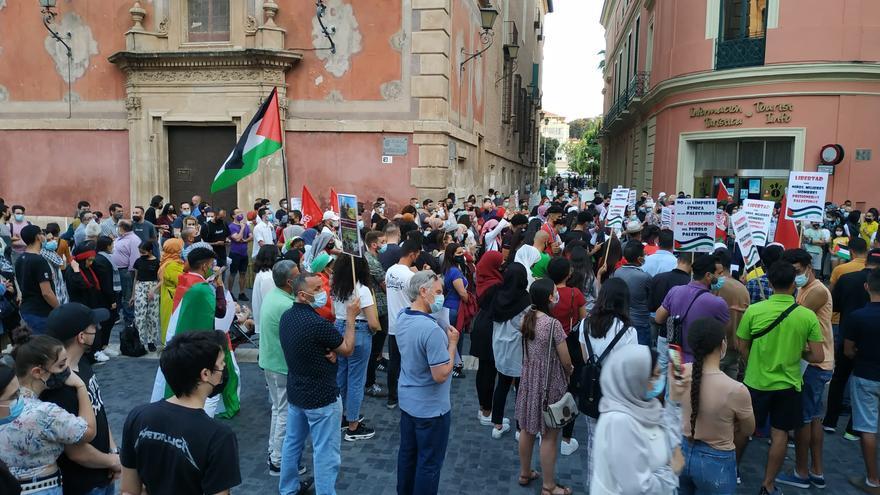 Concentración en Belluga en apoyo al pueblo palestino