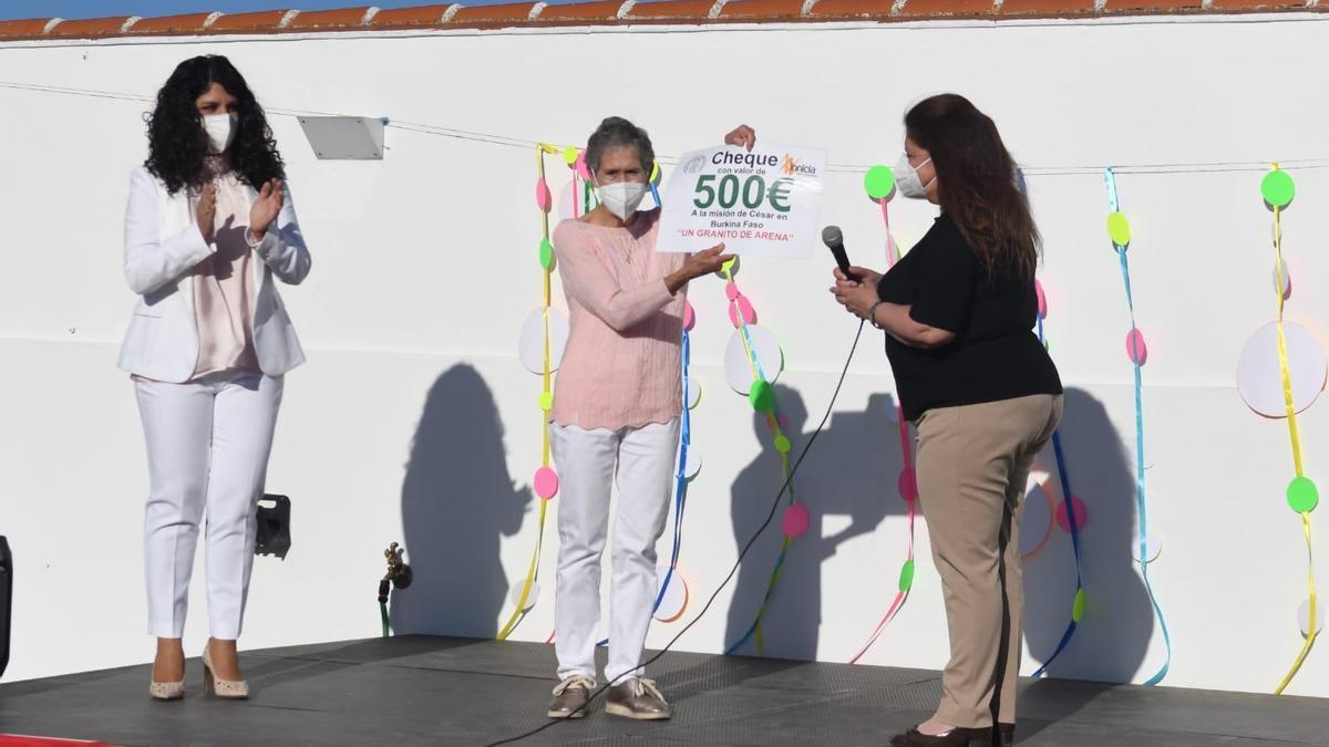 Acto celebrado en el colegio de El Guijo.