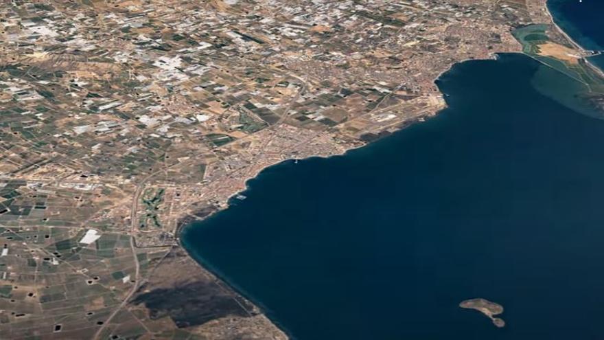 Google Earth publica un timelapse para ver cómo ha cambiado el Mar Menor desde 1987