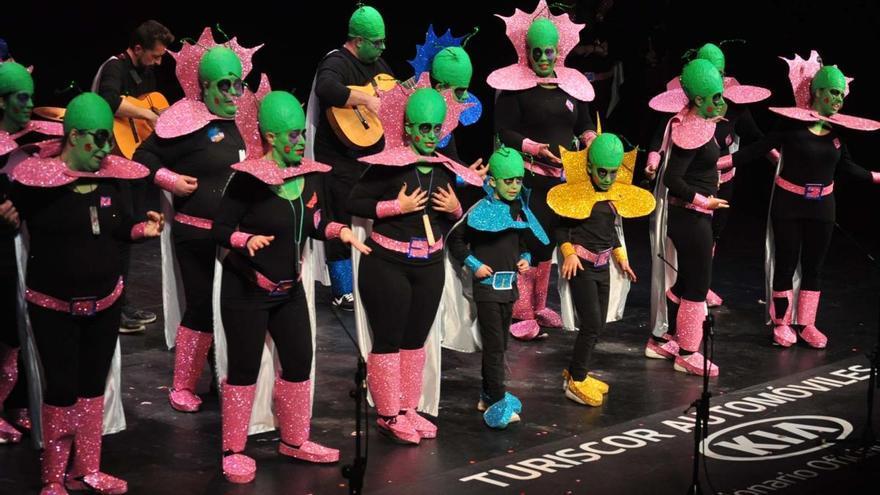 Concurso Agrupaciones Carnavalescas. Día 5