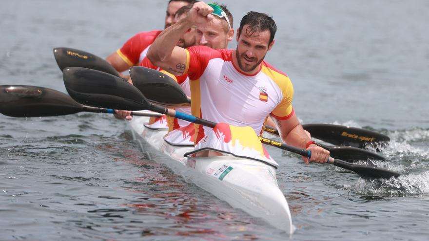 Saúl Craviotto alcanza a David Cal en el olimpo español