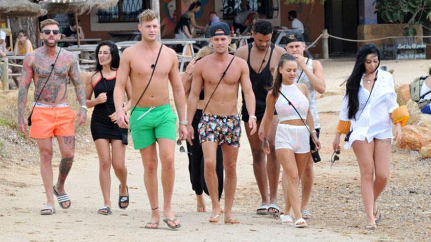 'Geordie Shore' graba en Ibiza sin permiso