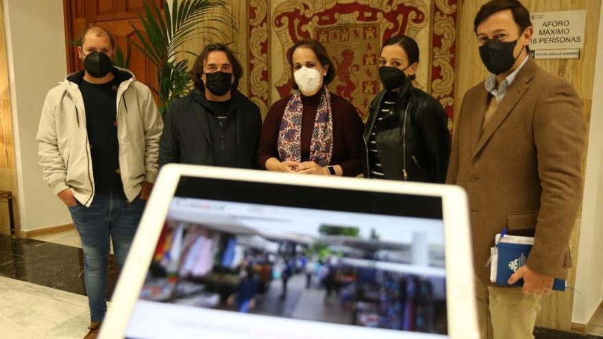 Los comercios ambulantes de Córdoba lanzan un escaparate virtual y preparan un 'marketplace' para complementar sus ventas vía online