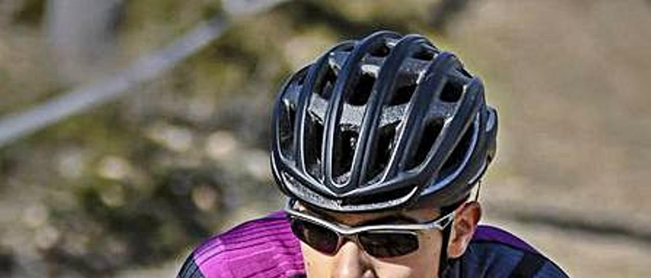 El ciclista de Moixent Pau Martí.    IRENE MORALES