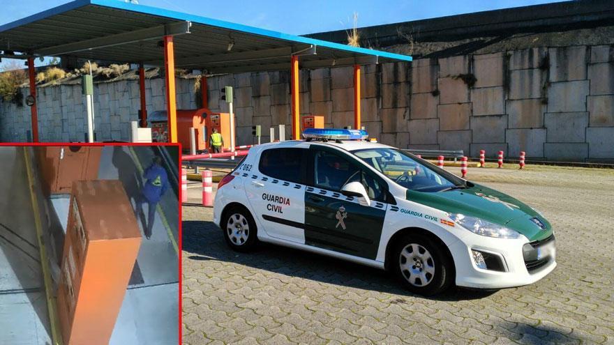 Detenido por robar en el peaje de la AG-57 en A Ramallosa