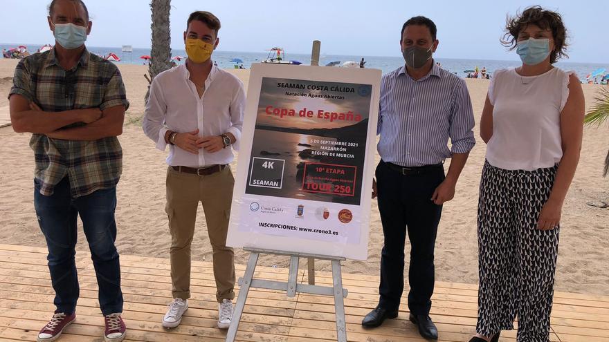 Bolnuevo acogerá en septiembre la décima etapa de la Copa de España de aguas abiertas