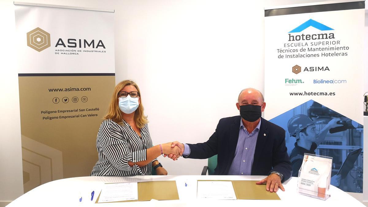 ASIMA y ASPROM colaboran en la integración socio-laboral de personas con discapacidad física