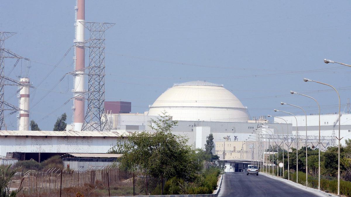 Una central nuclear de Irán